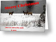 From Our Neck Of The Woods 5 Greeting Card