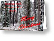 From Our Neck Of The Woods To Yours 3 Greeting Card