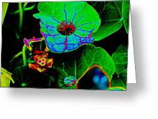 From The Psychedelic Garden Greeting Card