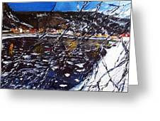 Front Glass Broken Greeting Card