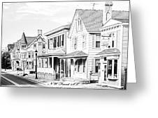 Front St.  Milford De Greeting Card