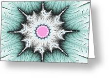 Frost Flower Greeting Card