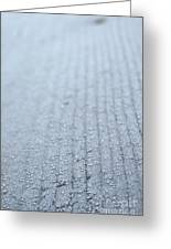 Frosted Woodgrain Greeting Card