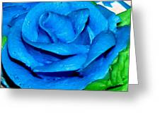 Frosting Rose Greeting Card