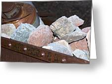 Frosty Rocks Greeting Card