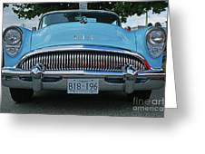 Frowning Buick Greeting Card