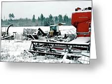 Frozen Field Greeting Card
