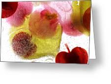 Frozen Flora 4 Greeting Card