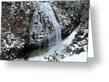 Frozen Narada Falls Greeting Card