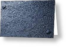 Frozen Pathways Greeting Card