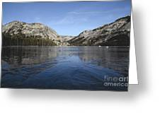 Frozen Tenaya Lake Greeting Card