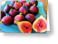 Fruit - Jersey Figs - Harvest Greeting Card