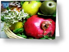 Fruit Basket Greeting Card