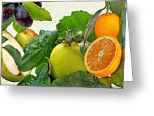 Fruit Day Greeting Card