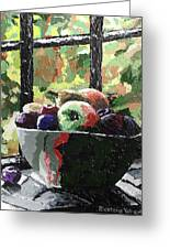 Fruit In Autumn Greeting Card