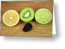Fruit Mix Greeting Card