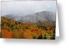 Fruits Loops In Crawford Notch Greeting Card