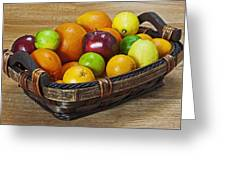fruits with vitamin C Greeting Card