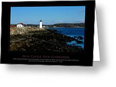 Ft Constitution - Nh Seacoast Greeting Card by Jim McDonald Photography