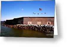 Ft Sumter  Greeting Card