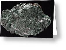 Fuchsite Mineral Sample Greeting Card