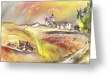 Fuente Del Cuellar In Spain Greeting Card