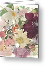 Full Bloom #1 Greeting Card