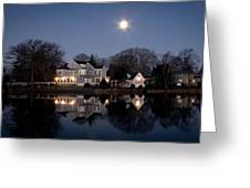 Full Moon Over Babylon Greeting Card