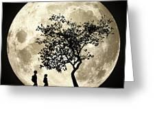 Full Moon Greeting Card