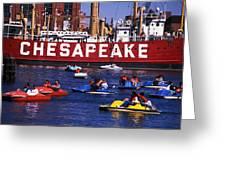 Fun On Chesapeake Bay Greeting Card