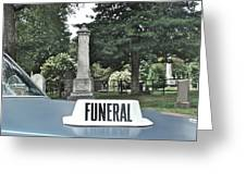 Funeral Greeting Card