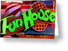 Funhouse Greeting Card
