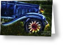 Funky Old Car Greeting Card