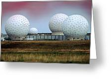 Fylingdales Long-range Radar Station, Uk Greeting Card
