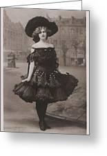 Gabrielle Ray Ca.1905 Greeting Card