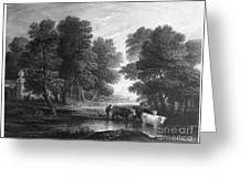 Gainsborough: Scenic View Greeting Card