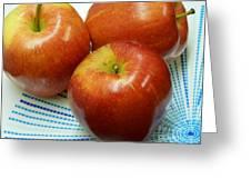 Gala Apples Greeting Card