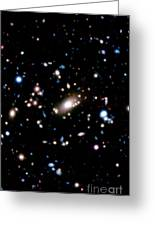 Galaxy Cluster Greeting Card