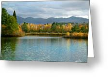 Gale River In Franconia New Hampshire Greeting Card