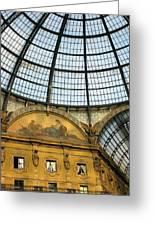 Galleria In Milan I Greeting Card