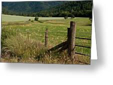 Galls Creek Farm Scene Greeting Card