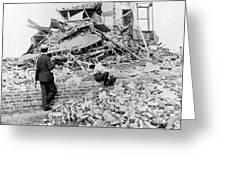 Galveston Flood Damage - September - 1900 Greeting Card