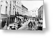 Galway Ireland - High Street - C 1901 Greeting Card