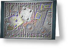Gambling Memories Greeting Card
