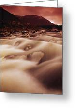 Gap Of Dunloe, River Loe, County Kerry Greeting Card