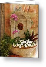 Garden Deco Greeting Card