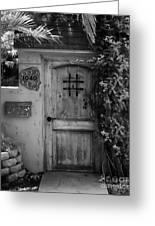 Garden Doorway 2 Greeting Card