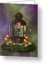 Garden Lanturn Greeting Card