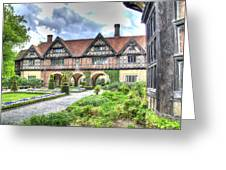 Garden Of Cecilenhof Palace Germany Greeting Card