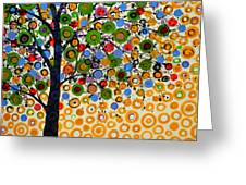 Garden Of Moons #2 Greeting Card